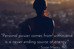 Personal Power comes from within